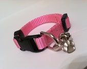 Itteh Bitteh Kitten Collar in Basic Baby Pink