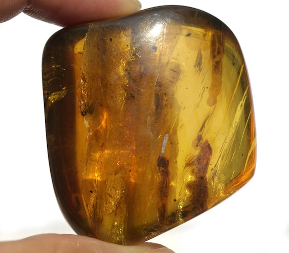 Baltic Amber Large Pebble Polished Chunk 1 Piece for Wirewrapping