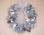 Christmas winter wonderland wreath