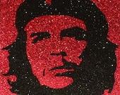 Che Guevara Inspired Glitter Pop Art Portrait ~CLEARANCE~
