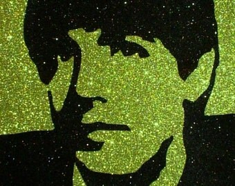Paul McCartney of The Beatles Inspired Glitter Art Decor ~CLEARANCE~