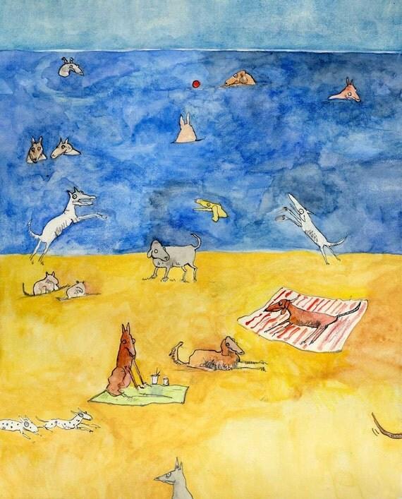 Dogs A La Playa