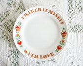 Baked With Love Plate