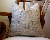 Paris Print Pillow