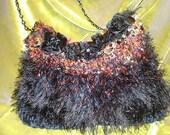 Hot Black Roses Bag