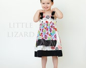Apron Knot Dress SEWING PATTERN, Baby Knot Dress Pattern, Girls Dress Pattern, Easy Dress Pattern, Matilda Jane Pattern