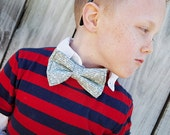 Bow Tie - SEWING TUTORIAL for Boys, PDF Hair Bow Instructions for girls