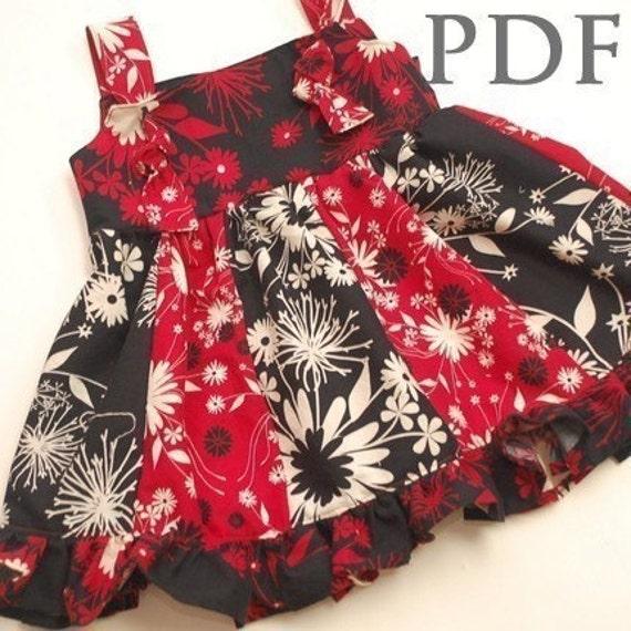 Love Me Knot Dress - SEWING PATTERN