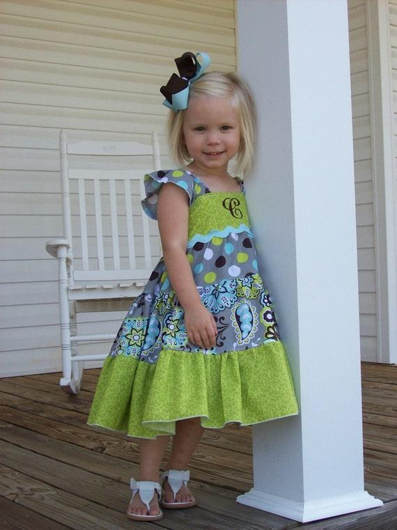 Girls Dress Sewing Pattern, Girls Clothing Pattern, Dress Sewing Pattern, Matilda Jane Pattern, Baby Doll Twirl, Twirly Dress, Ellie Dress