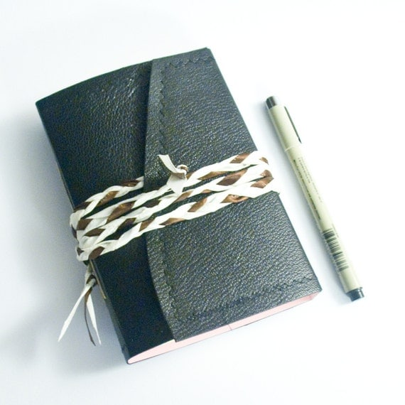 Classy Girl Wraparound Leather Journal 20