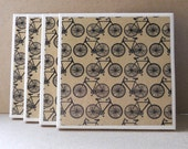 Ceramic Tile Coasters - Bicycles
