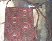 Messenger Bag with Tribal Design