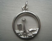 Seattle Worlds Fair Charm in Sterling