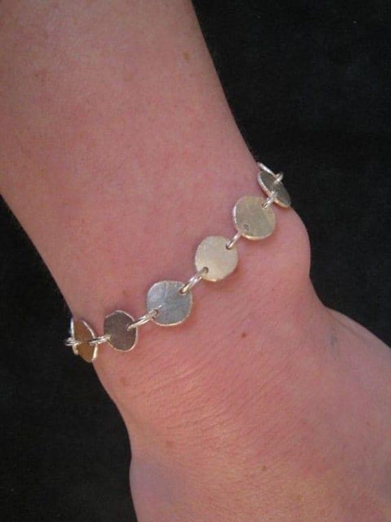 Recycled Sterling Linked Bracelet