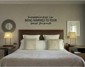 Items Similar To Happiness Is Vinyl Wall Decal