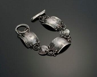 Melody Fine Silver Bracelet