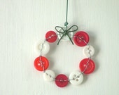 Sale: 50% off with coupon code WINTER50 Candy Cane Wreath Ornament