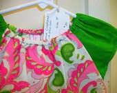 Green and Pink-Ready to Ship - 3T