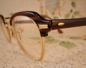 Geek Chic Glasses - Horn Rimmed - Men / Women - Bausch & Lomb - FREE domestic shipping