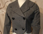 Jacket - Fitted - Waist Length - Small - Circa 1950's/60's
