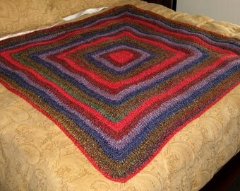Royal Persia Crochet Blanket
