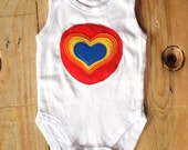 sweet heart baby bodysuit 3