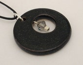 Monthly specials - Black round pendant (JB-S001-1)