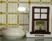 """1950's Salt and Pepper Shaker (""""not a pot to piss in nor a window to throw it out of"""")"""