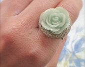 Antique Style Rose Ring