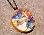 Custom Mermaid Necklace for GeishaMermaid