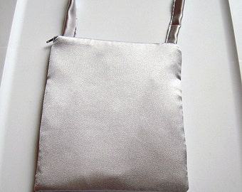Silver Square Evening Bag