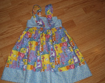 Easter Sunday Religious Dress RTS in size 2T -