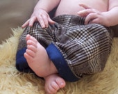 Little Old Man wool baby pants 3-6 months