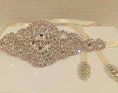 Bridal Headpiece, ETERNITY, Bridal Headband, Rhinestone Headband, Bridal Headpiece