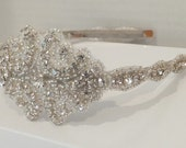 Wedding Headpiece, TERESA, Bridal Headband, Rhinestone Headband, Bridal Headpiece