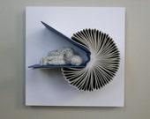 Sleeper on Book Birdie (Original Sculpture)