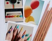 colour mini-print set - crazy for colour