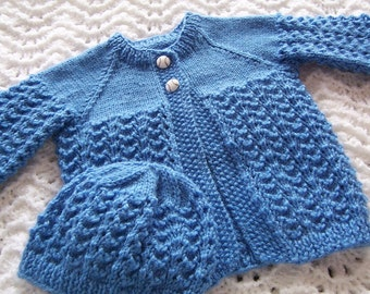 Hand Made Sweater & Hat for Baby