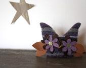 owl plush, owl decor, handmade