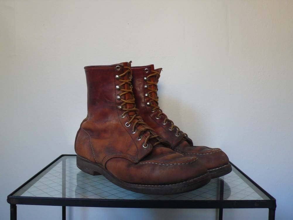 Vintage Red Wing Boots by hutchvintage on Etsy