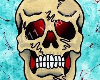 I Want Your Skull Original Tattoo Art