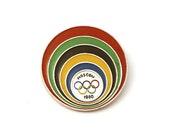 Vintage pin Olympics 1980 Summer
