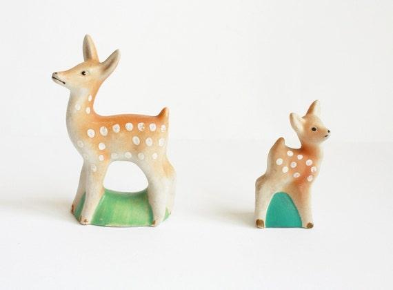 Vintage porcelain figurines from Latvia Soviet Union