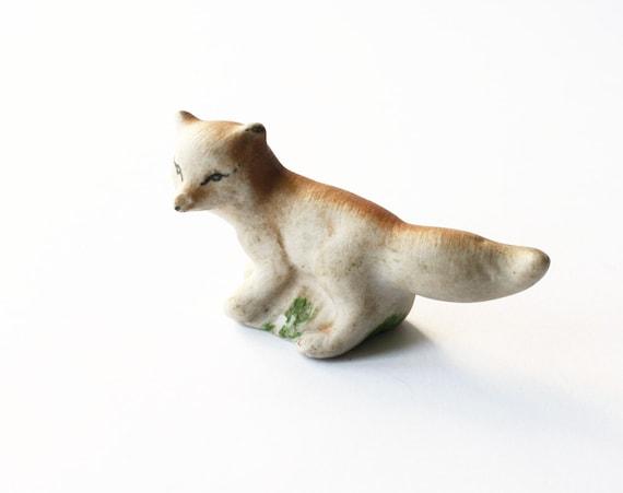 Vintage figurine Fox from Latvia Soviet Union era