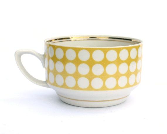 Vintage porcelain cup without saucer