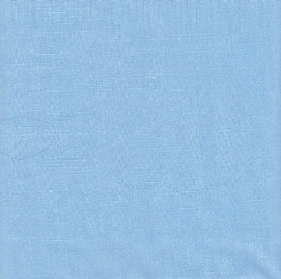 "Solid Light Blue Fabric By The Yard - 3 Yards x 42"" Linen Material - 4 Sewing - Crafting Quilting - Lot 139"