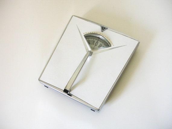 vintage detecto bathroom scale by industrialrelic on Etsy