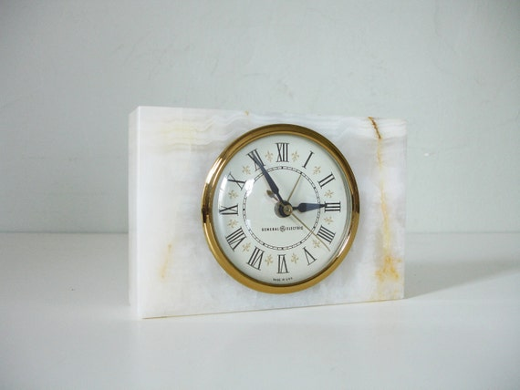 vintage ge alarm clock