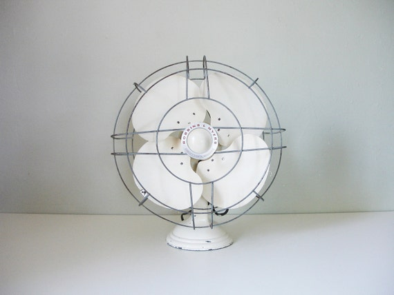 vintage large robbins & myers electric fan