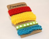 Ribbon and Trim Collection in Child's Play (4 yards)